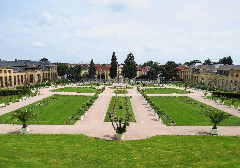 Orangerie Schloss Friedenstein Gotha